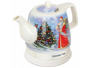 Чайник керамический Polaris PWK1299CCR дед мороз