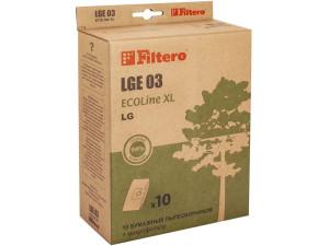 Пылесборники Filtero LGE03 Ecoline (10 шт. + фильтр)