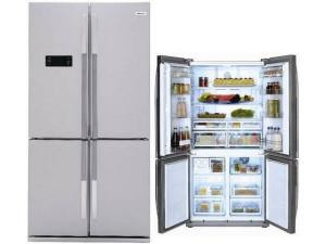 Холодильник BEKO GNE114610FX