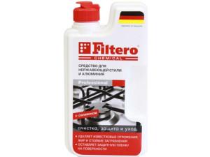 Средство Filtero для нержавеющей стали и алюминия