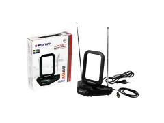 Комнатная ТВ антенна KROMAX TV FLAT-03
