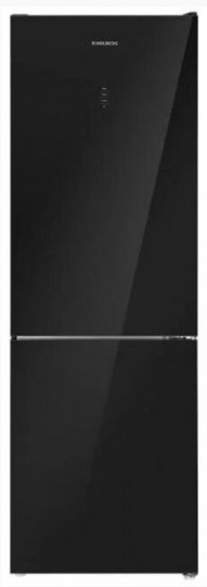 Холодильник HOLBERG HRB 2001NDGB черное стекло