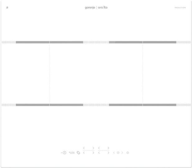 Индукционная панель Gorenje IT646ORAW