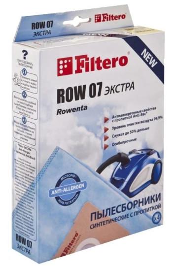 Пылесборники Filtero ROW07 (4) Экстра