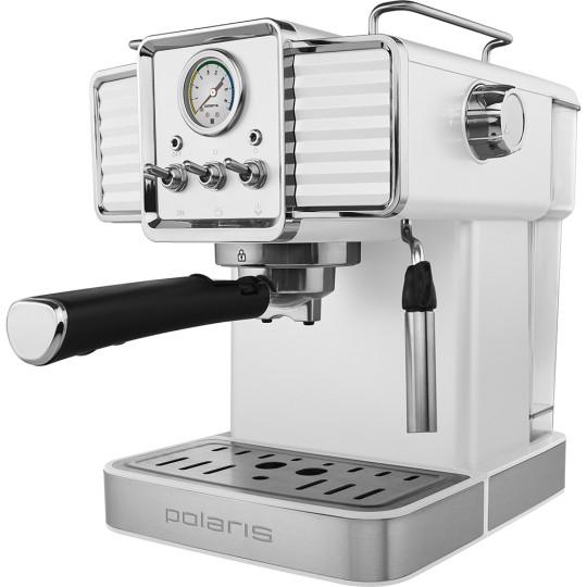 Кофеварка Polaris PCM 1538E Adore Crema (белый)