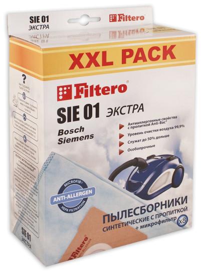 Пылесборники Filtero SIE01(8) Экстра XXL PACK