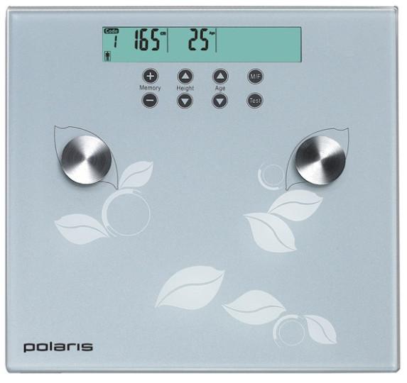 Весы напольные Polaris PWS1526DGF (в ассорт)
